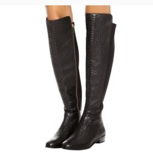 Michael Kors, Black bromley boots, size 7